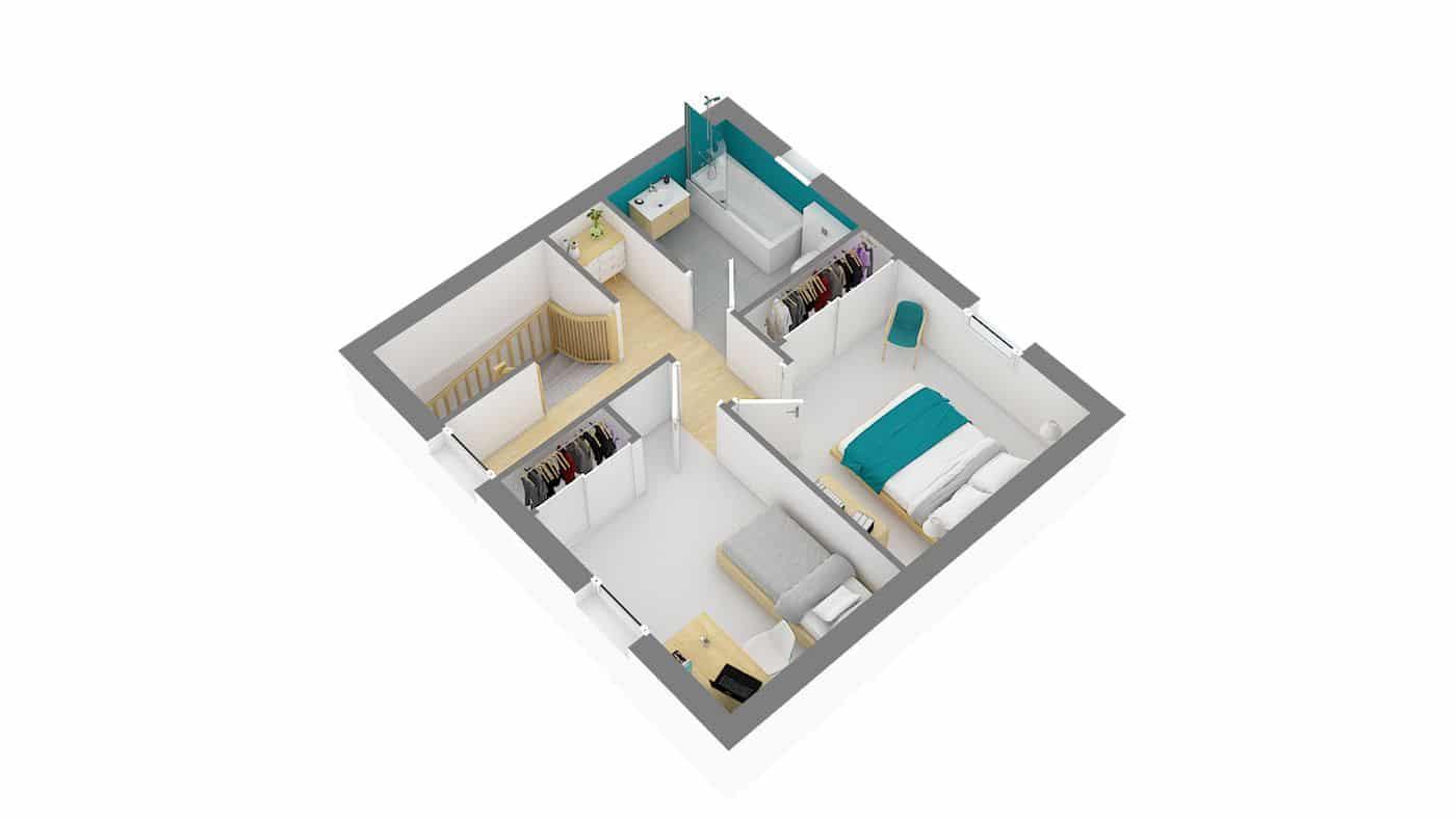 Maison privat-Chantonnaise-g-axo_etage