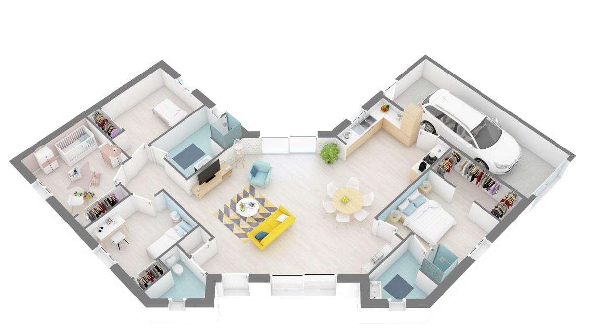 Plan Maison Vairoise Maisons Privat