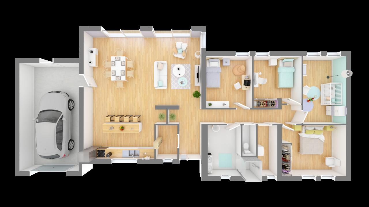 Plan Maison Blainium Maisons Privat