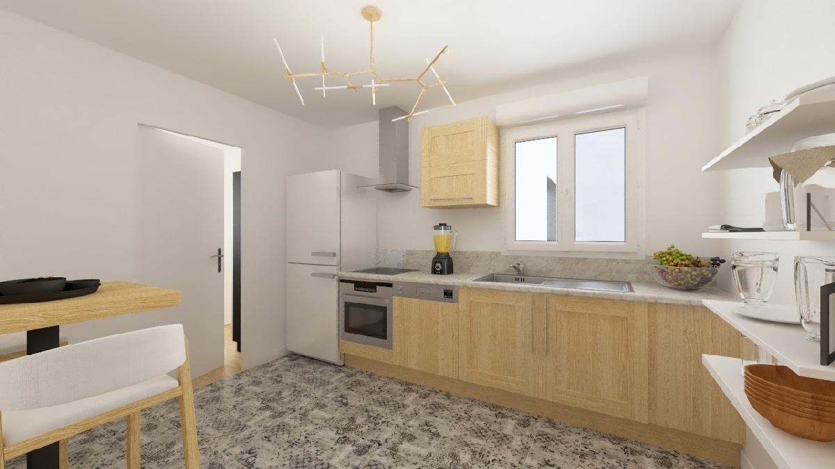 Maisons Privat - maison neuve vendée _lherbaudiere_guinet_maison_vendeenne-c-cuisine