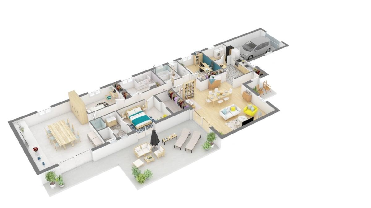 Maisons Privat - maison neuve vendée _lherbaudiere_guinet_maison_vendeenne-g0-axo_rdc