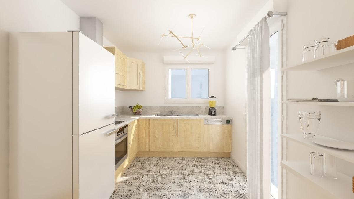 Maisons Privat - maison neuve vendée _noirmoutrine-c-cuisine1